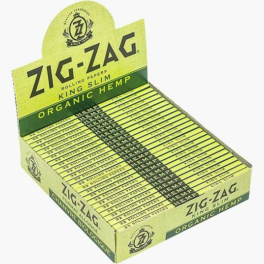 Ziz-Zag Organic Hemp King Slim