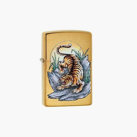 Zippo Lighters: Hunting Tattoo Tiger