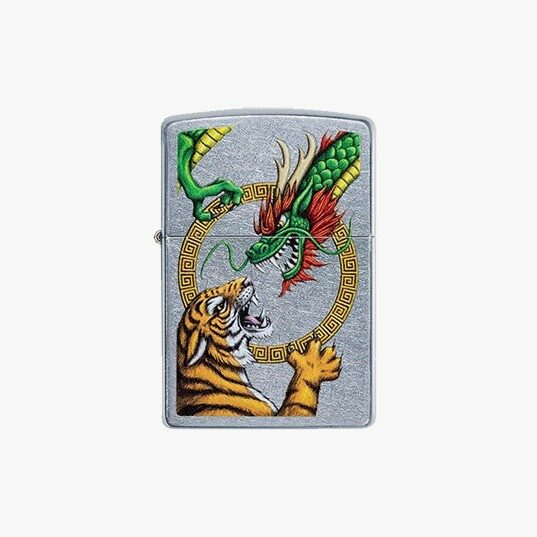 Zippo Lighters dragon & tiger