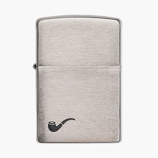 Brushed Chrome Pipe Lighter_537x537