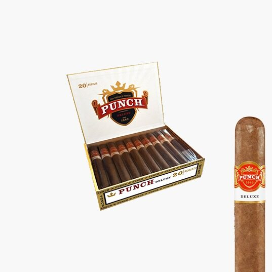 Punch Deluxe Robusto Cigars