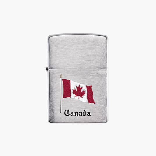 Zippo Lighter : Flag of Canada