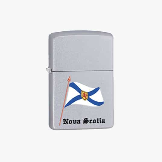 Zippo Lighters : Souvenir Flag of Nova Scotia